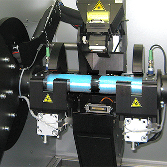 custom machine by esmo automation with a welding laser for attaching wear marks